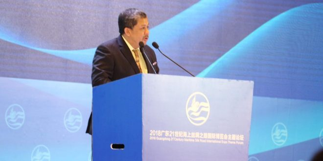 "Pidato Fahri Hamzah dalam Acara ""The Silk Road Maritime Expo"" di Guangzhou, Tiongkok (English version)"